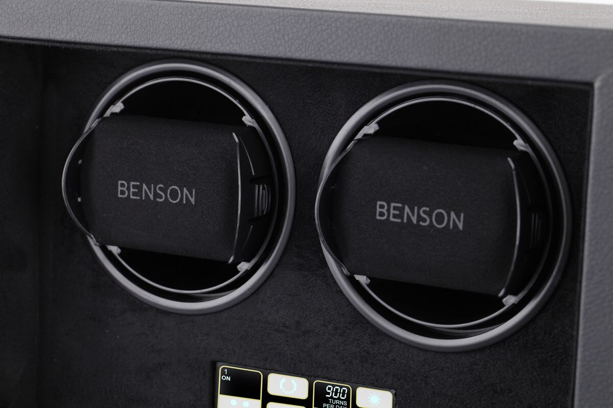Benson Compact 2.18 Black Leather